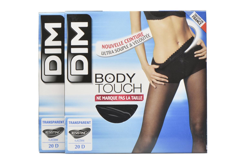 Chaussettes et collants Dim Collant BODY TOUCH VOILE Pack de 2 Noir vue détail/paire