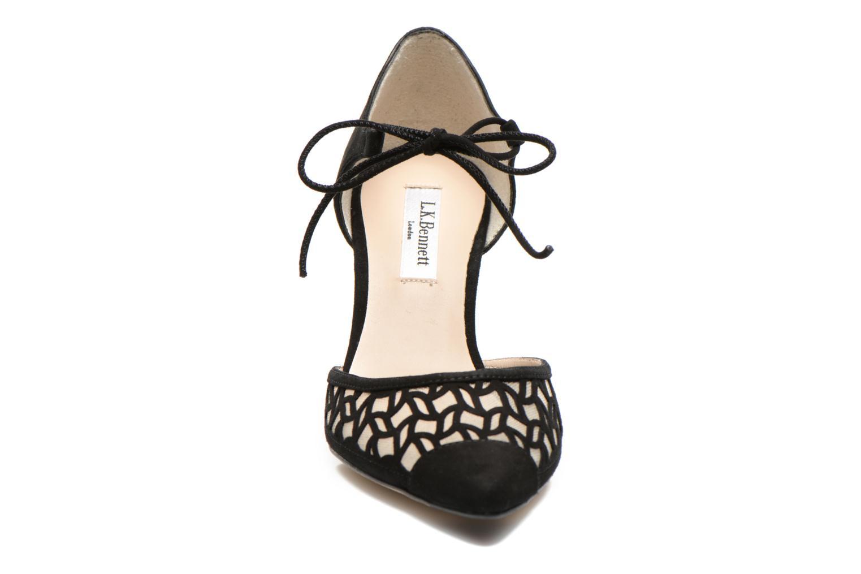 Escarpins L.K. Bennett Fauna Noir vue portées chaussures