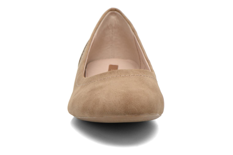 Ballerinas Esprit Aloa Ballerina 1 braun schuhe getragen