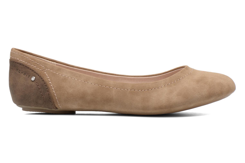 Ballet pumps Esprit Aloa Ballerina 1 Brown back view