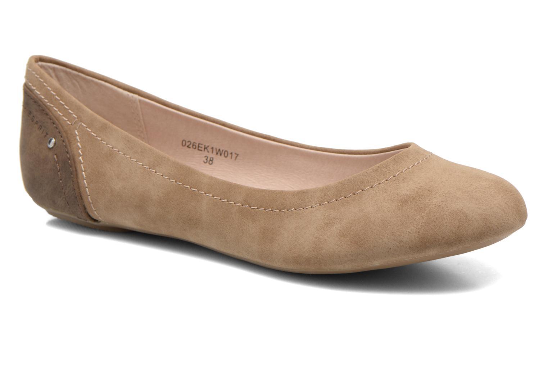 Ballet pumps Esprit Aloa Ballerina 1 Brown detailed view/ Pair view