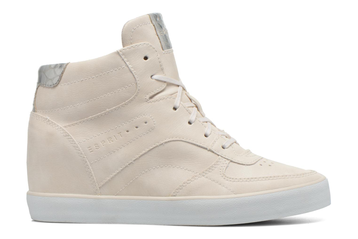 Baskets Esprit Start Wedge Casual Blanc vue derrière