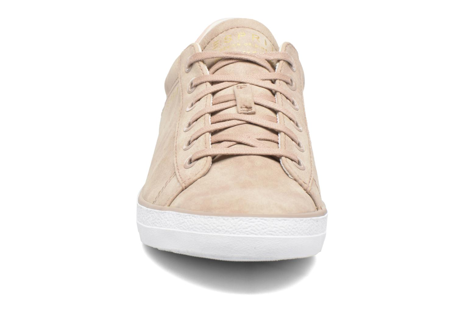 Trainers Esprit Miana Lace Up Pink model view