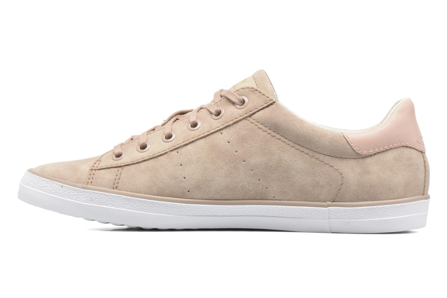 Trainers Esprit Miana Lace Up Pink front view