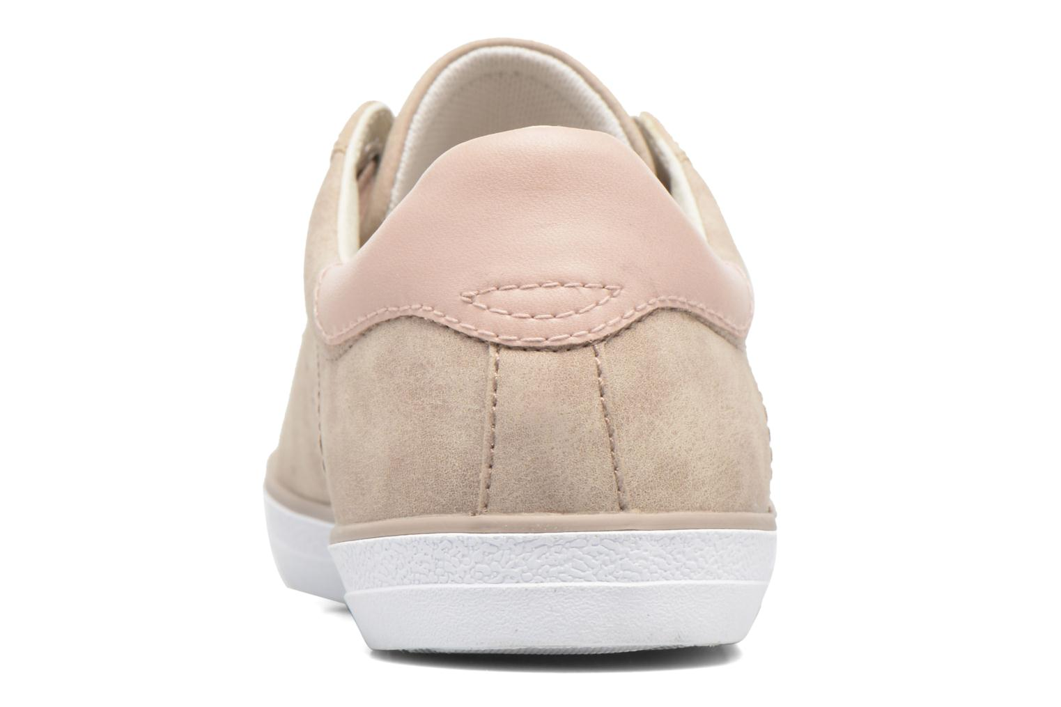 Trainers Esprit Miana Lace Up Pink view from the right