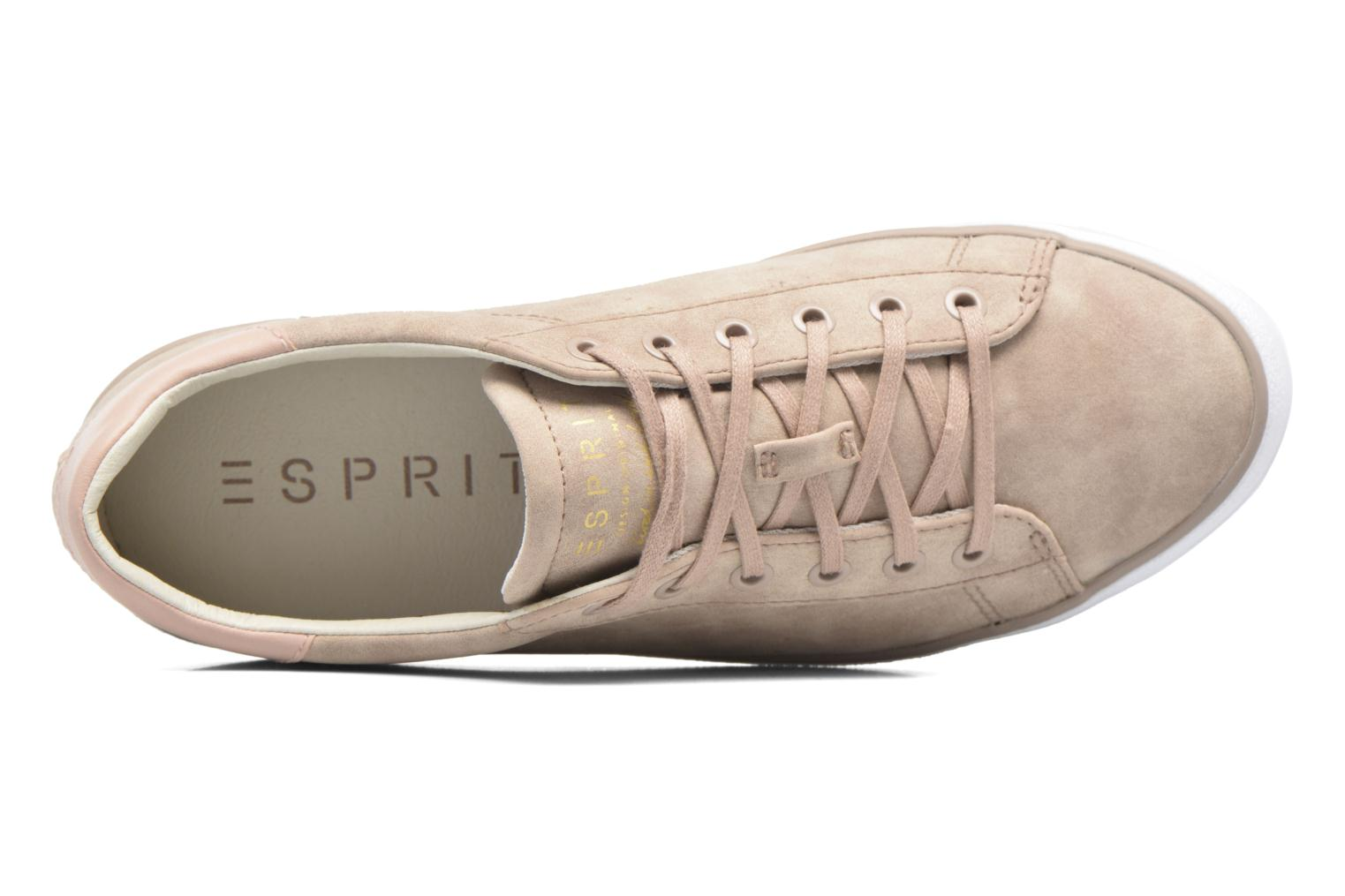 Sneaker Esprit Miana Lace Up rosa ansicht von links