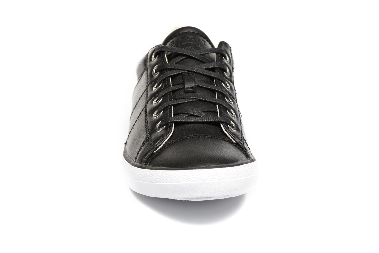 Trainers Esprit Miana Lace Up Black model view