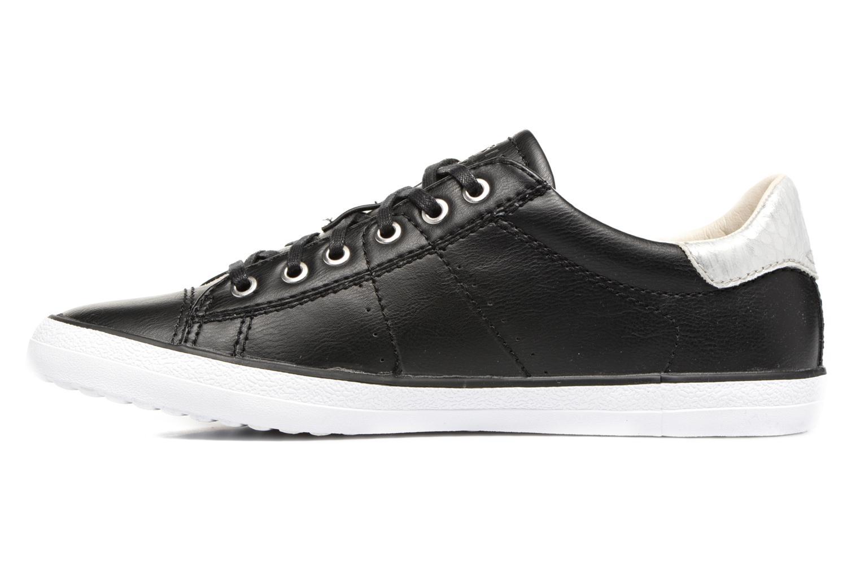 Sneakers Esprit Miana Lace Up Zwart voorkant