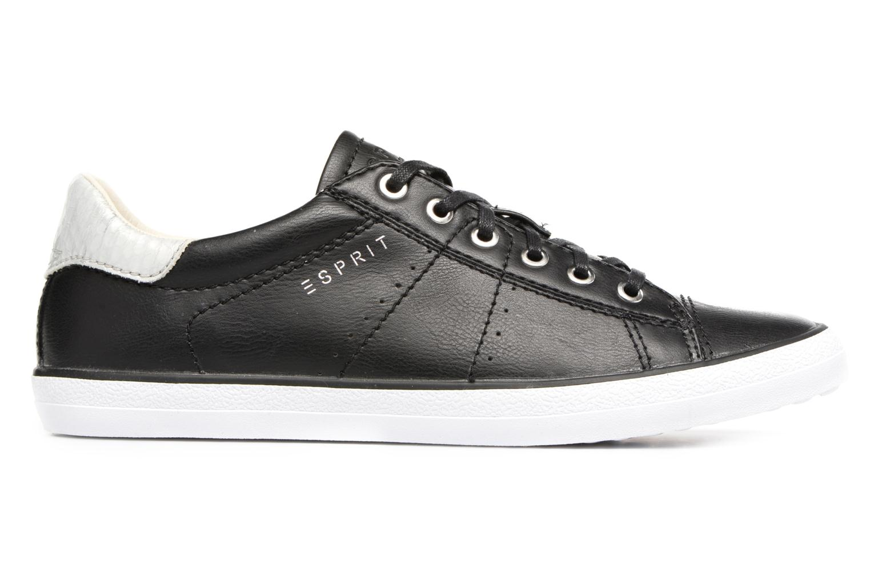 Sneakers Esprit Miana Lace Up Zwart achterkant