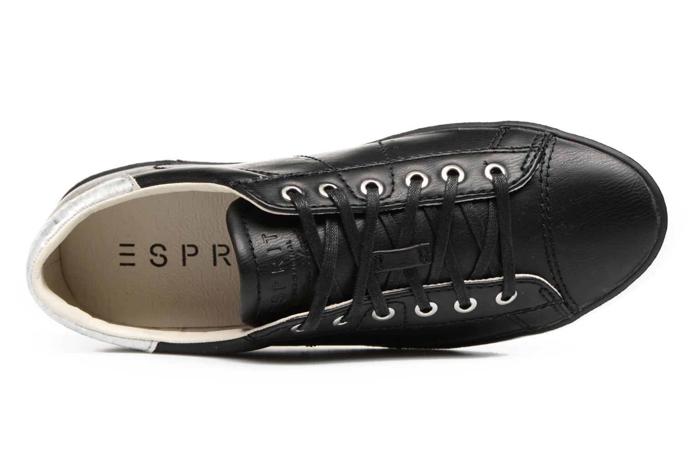 Sneakers Esprit Miana Lace Up Nero immagine sinistra