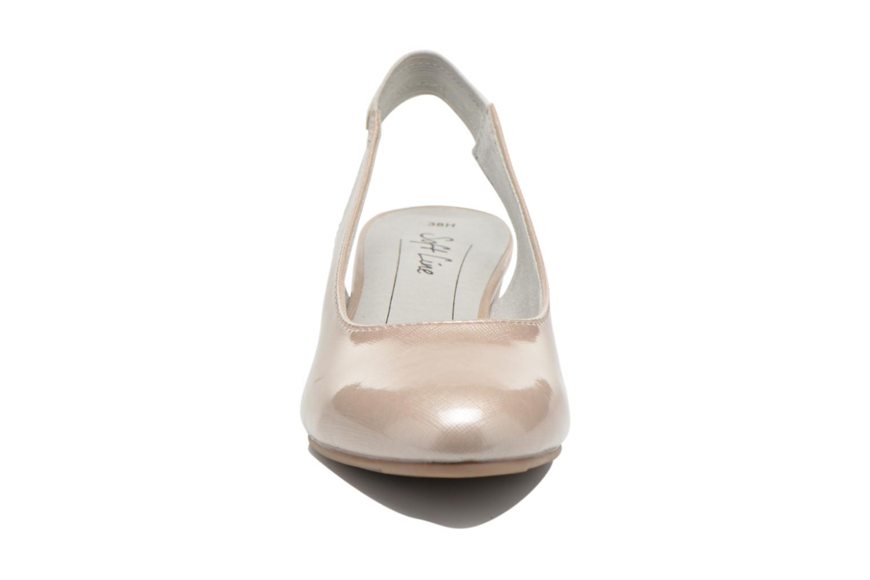 Escarpins Jana shoes Orina Beige vue portées chaussures