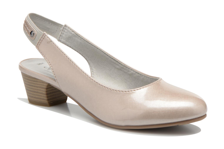 Escarpins Jana shoes Orina Beige vue détail/paire