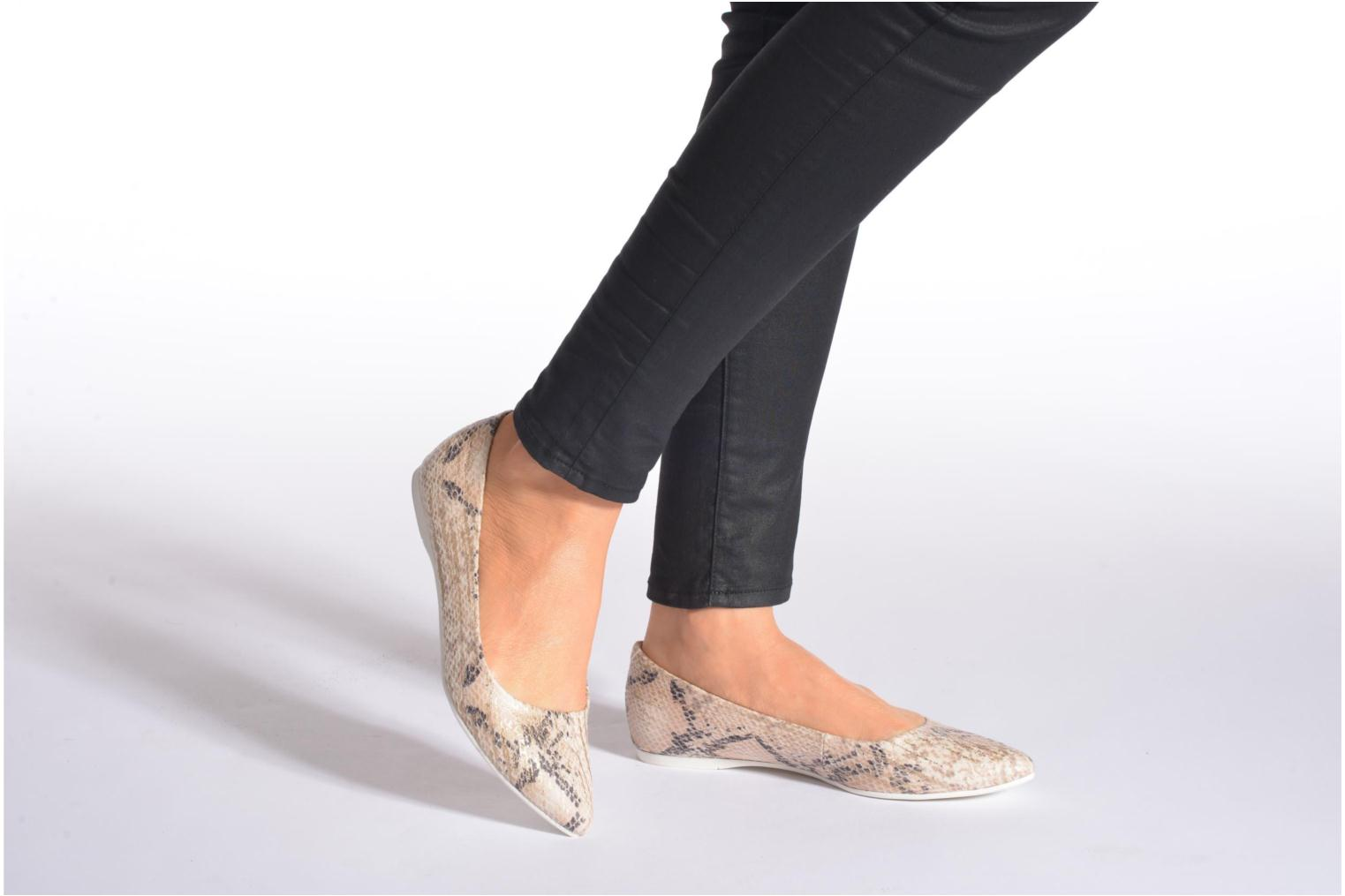 Ballet pumps S.Oliver Rilozy Beige view from underneath / model view