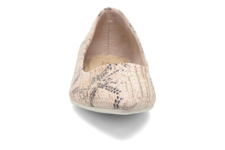 Ballerines S.Oliver Rilozy Beige vue portées chaussures