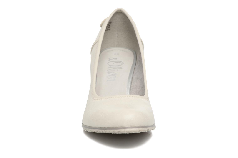 Escarpins S.Oliver Nyelle Blanc vue portées chaussures