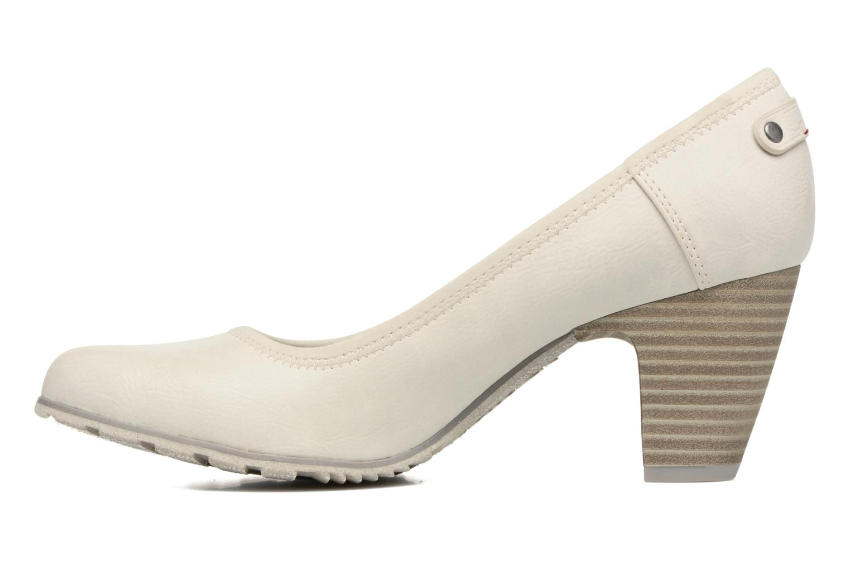 Zapatos de tacón S.Oliver Nyelle Blanco vista de frente