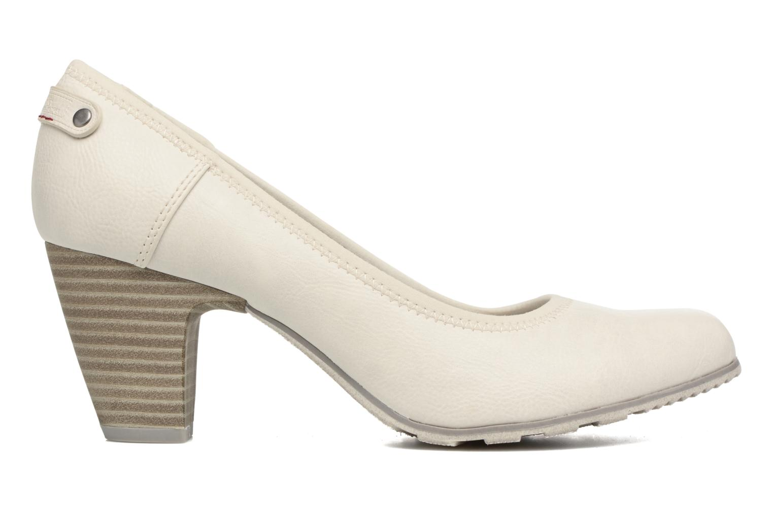 High heels S.Oliver Nyelle White back view
