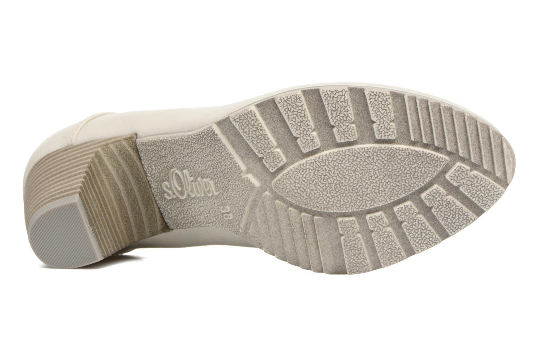 Zapatos de tacón S.Oliver Nyelle Blanco vista de arriba