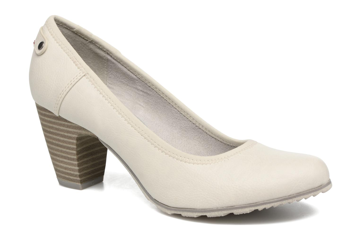 High heels S.Oliver Nyelle White detailed view/ Pair view