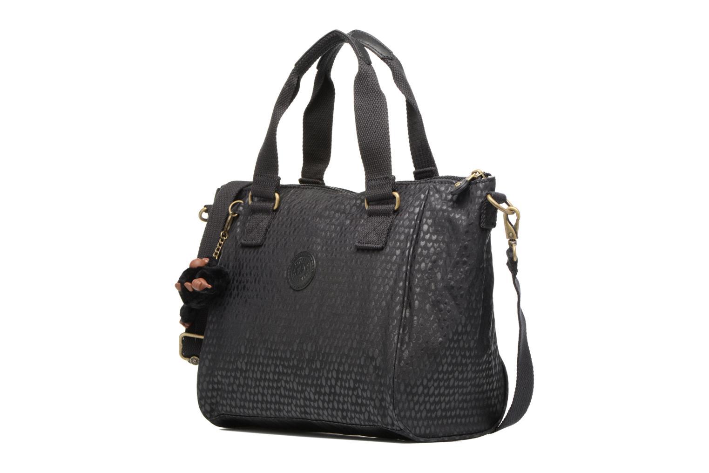 Handtaschen Kipling Amiel schwarz schuhe getragen