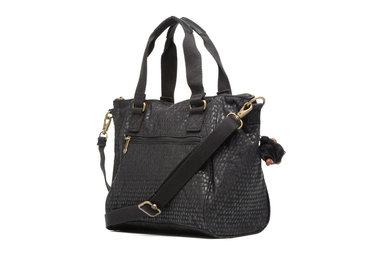Handtaschen Kipling Amiel schwarz ansicht von rechts