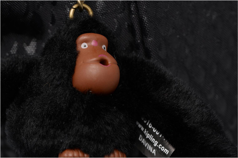 Handtaschen Kipling Amiel schwarz ansicht von links