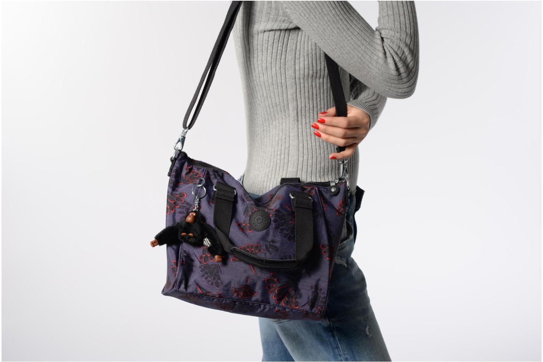 Handtaschen Kipling Amiel schwarz ansicht von oben