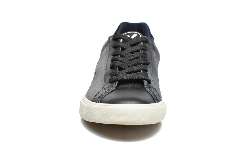 Baskets Veja Esplar Low Leather Noir vue portées chaussures