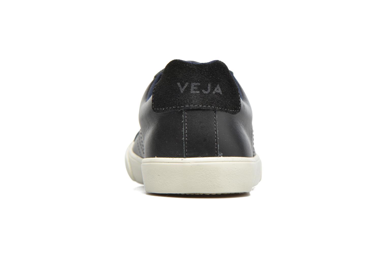Baskets Veja Esplar Low Leather Noir vue droite