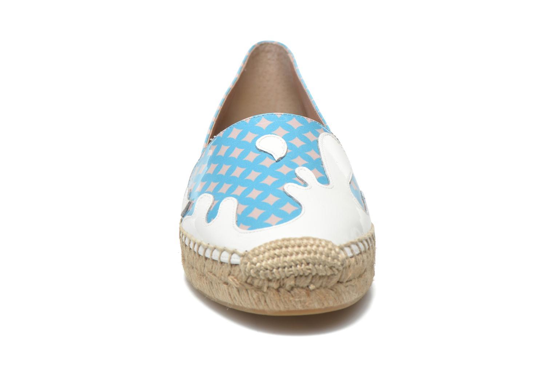 Espadrilles Apologie Ink Bleu vue portées chaussures