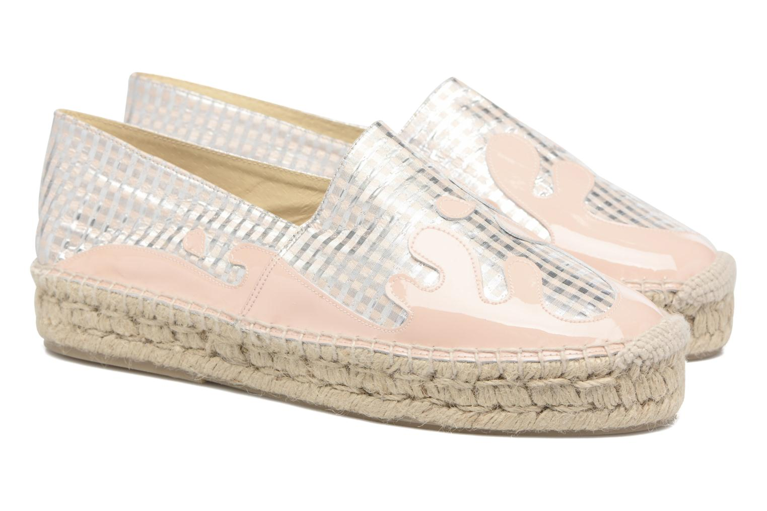 Espadrilles Apologie Ink Pink 3/4 view