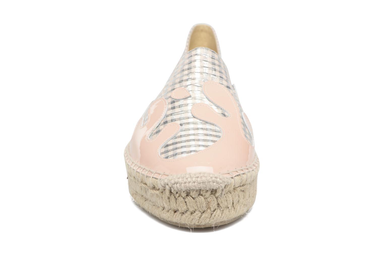 Scarpe di corda Apologie Ink Rosa modello indossato