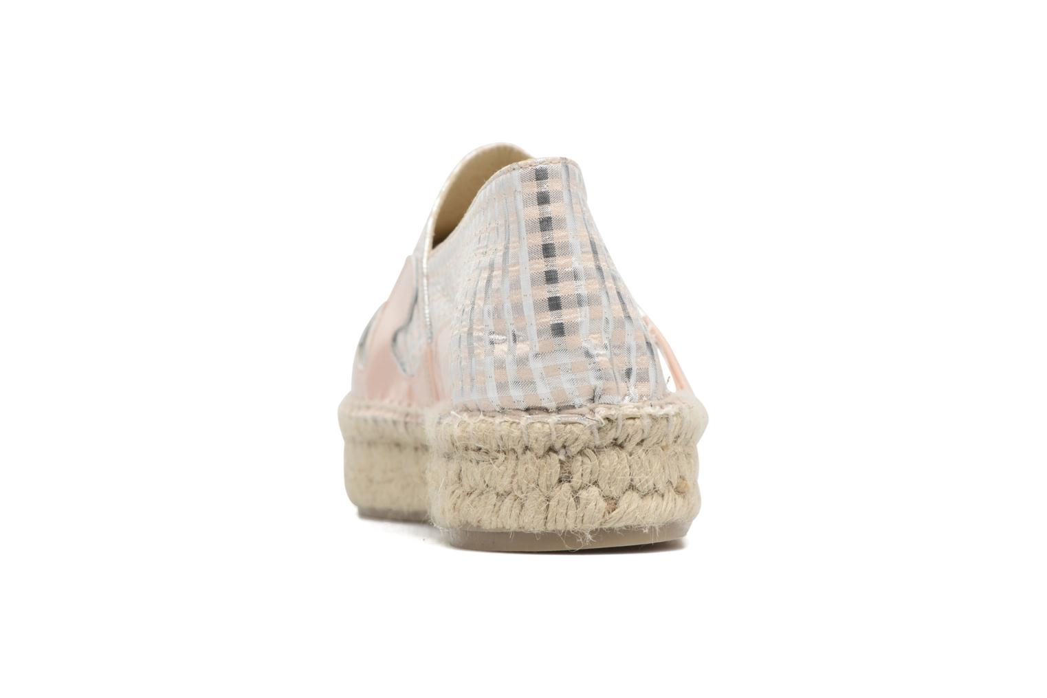 Espadrilles Apologie Ink Pink view from the right