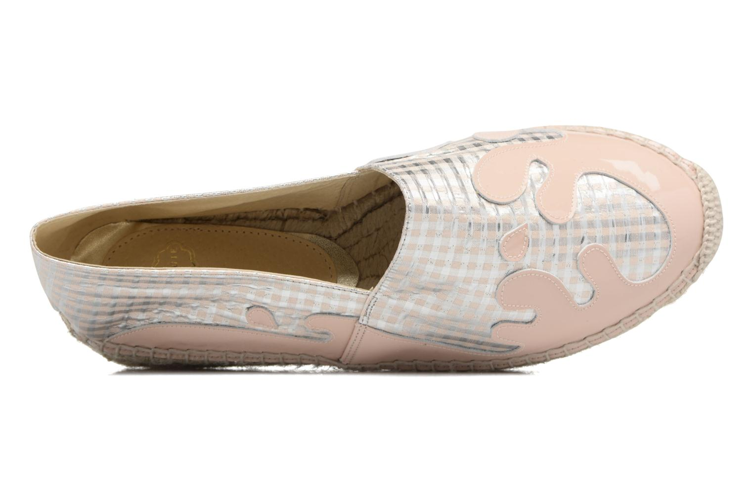 Espadrilles Apologie Ink Pink view from the left