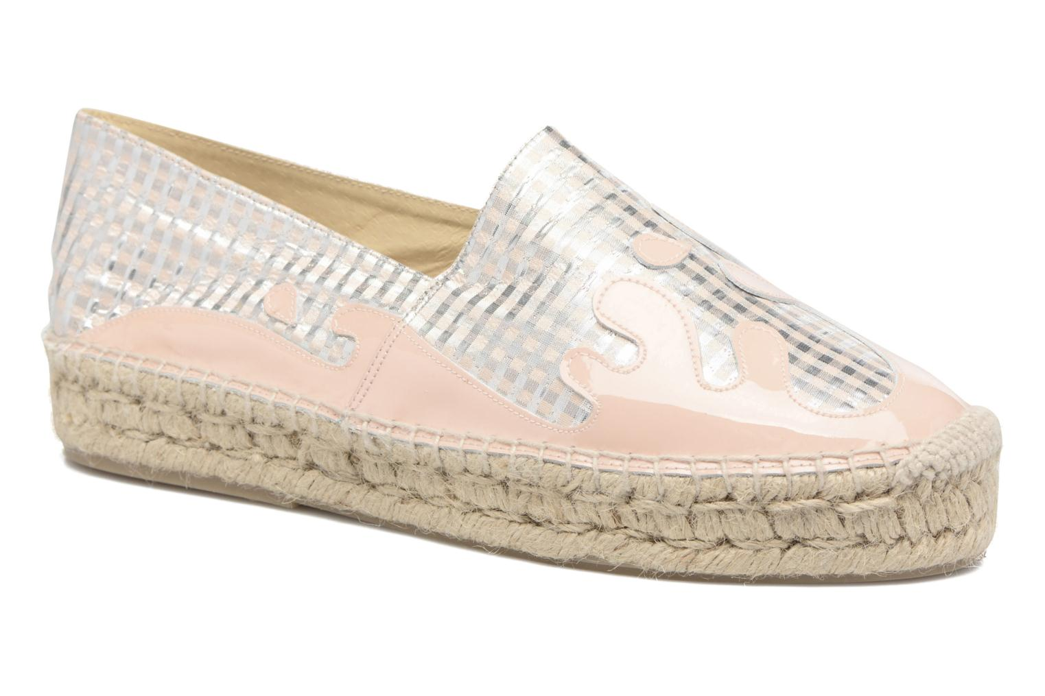 Espadrilles Apologie Ink Pink detailed view/ Pair view