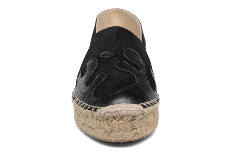 Espadrilles Apologie Ink Noir vue portées chaussures