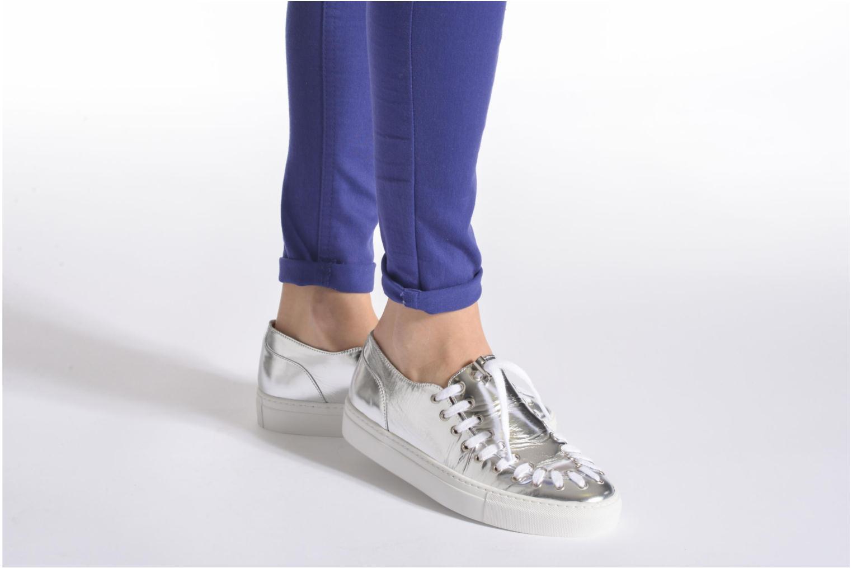 Chaussures à lacets Swear BLAKE 2 BIS Argent vue bas / vue portée sac