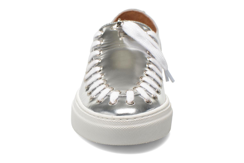 Chaussures à lacets Swear BLAKE 2 BIS Argent vue portées chaussures
