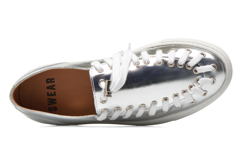 Chaussures à lacets Swear BLAKE 2 BIS Argent vue gauche