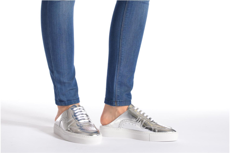 Zapatos con cordones Swear BLAKE 8 Plateado vista de abajo