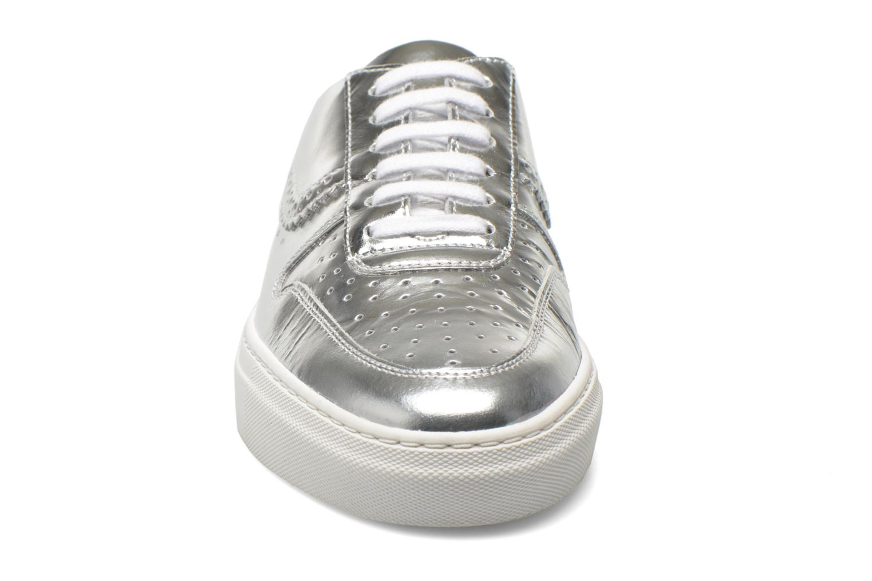 Zapatos con cordones Swear BLAKE 8 Plateado vista del modelo