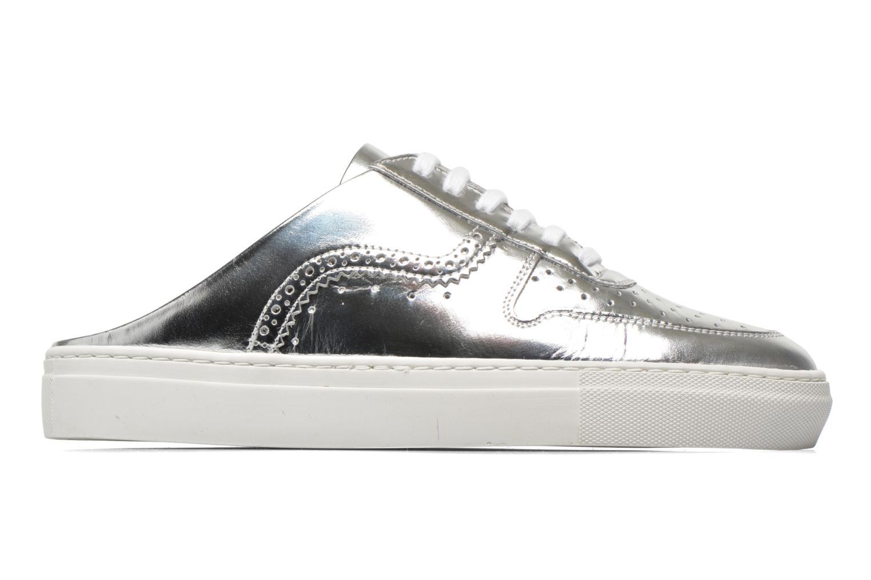 Zapatos con cordones Swear BLAKE 8 Plateado vistra trasera
