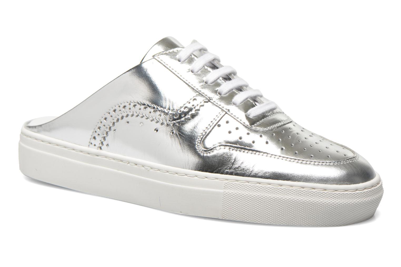 Zapatos con cordones Swear BLAKE 8 Plateado vista de detalle / par