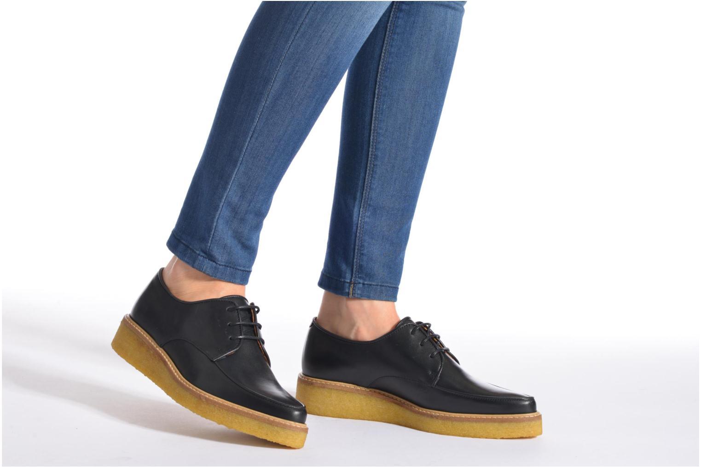 Chaussures à lacets Swear NINA 5 Rose vue bas / vue portée sac