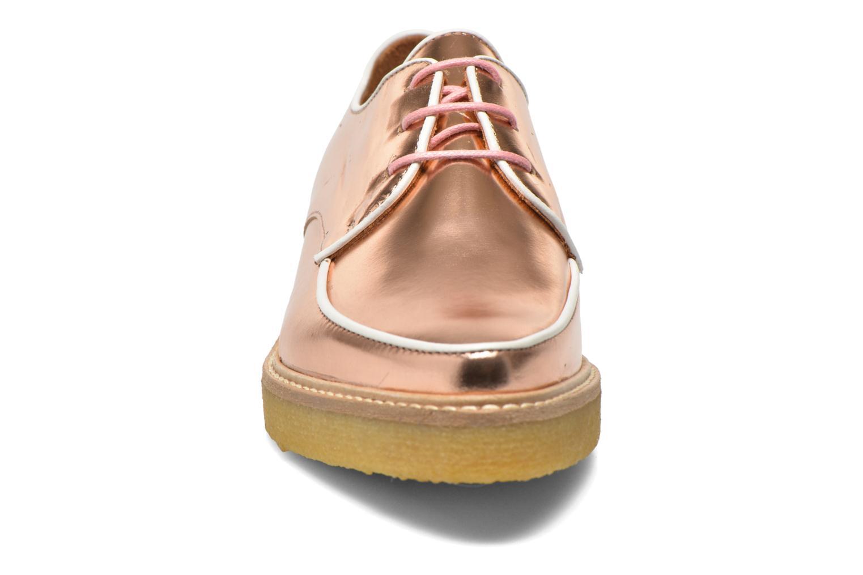 Chaussures à lacets Swear NINA 5 Rose vue portées chaussures
