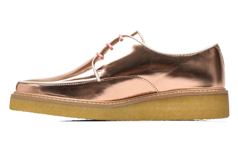 Chaussures à lacets Swear NINA 5 Rose vue face