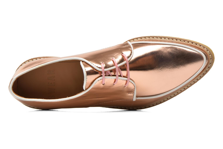 Chaussures à lacets Swear NINA 5 Rose vue gauche
