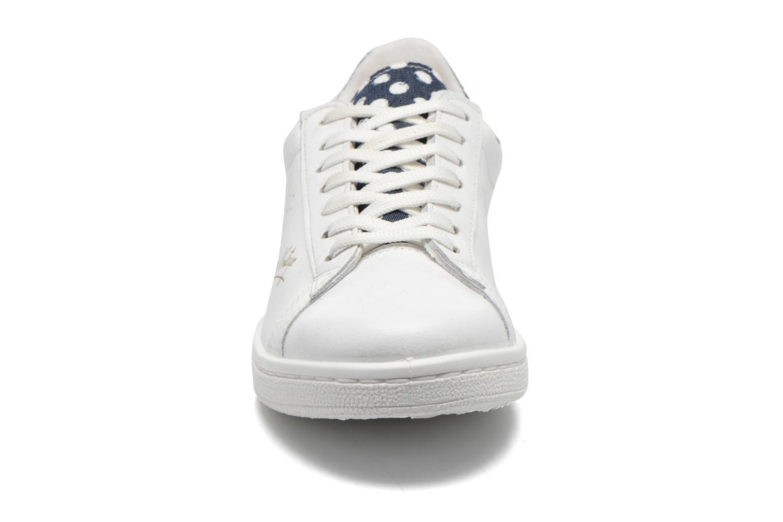 Baskets Ippon Vintage Wild serie Blanc vue portées chaussures