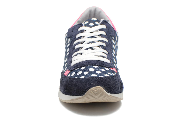 Baskets Ippon Vintage Run Pop Bleu vue portées chaussures