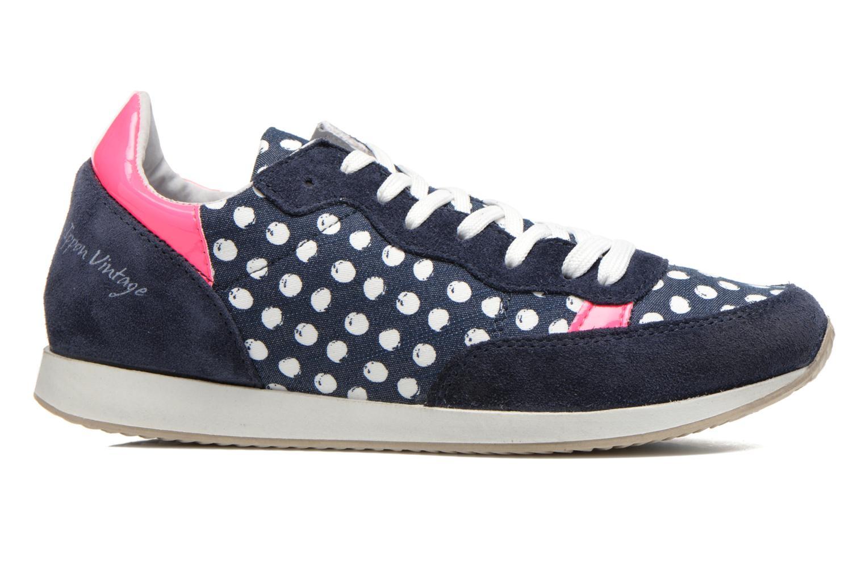 Baskets Ippon Vintage Run Pop Bleu vue derrière